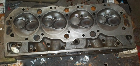 Mercruiser 7 4L - Cylinder Head Assembly